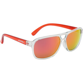 Alpina Yalla Cykelglasögon röd/transparent